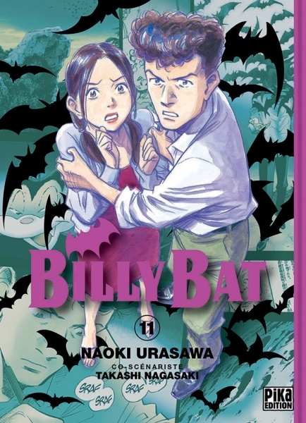 Couverture Billy Bat, tome 11