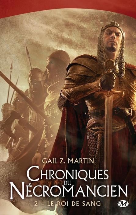 Couverture Chroniques du nécromancien, tome 2 : Le Roi de sang