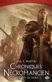 Couverture Chroniques du nécromancien, tome 2 : Le Roi de sang Editions Milady (Fantasy) 2014