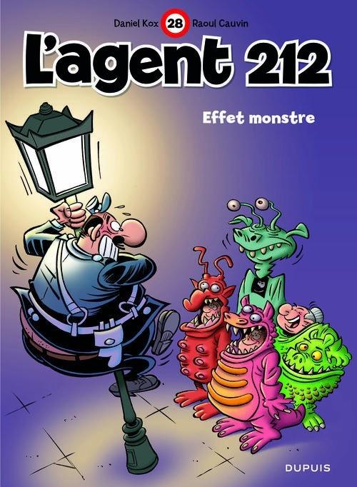 Couverture L'Agent 212, tome 28 : Effet monstre