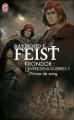 Couverture Les nouvelles chroniques de Krondor / L'entre-deux-guerres / Les Fils de Krondor, tome 1 : Prince de Sang Editions J'ai Lu 2011