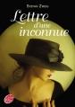 Couverture Lettre d'une inconnue Editions Le Livre de Poche (Jeunesse) 2013