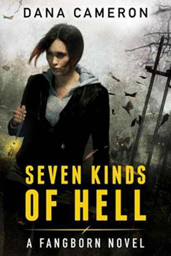 Couverture Fangborn, book 1: Seven Kinds of Hell
