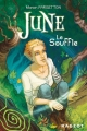 Couverture June, tome 1 : Le Souffle Editions Rageot 2014