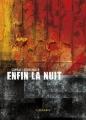 Couverture Enfin la nuit Editions L'Atalante (La Dentelle du cygne) 2013