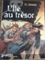 Couverture L'île au trésor Editions Graffiti (Aventure) 2003