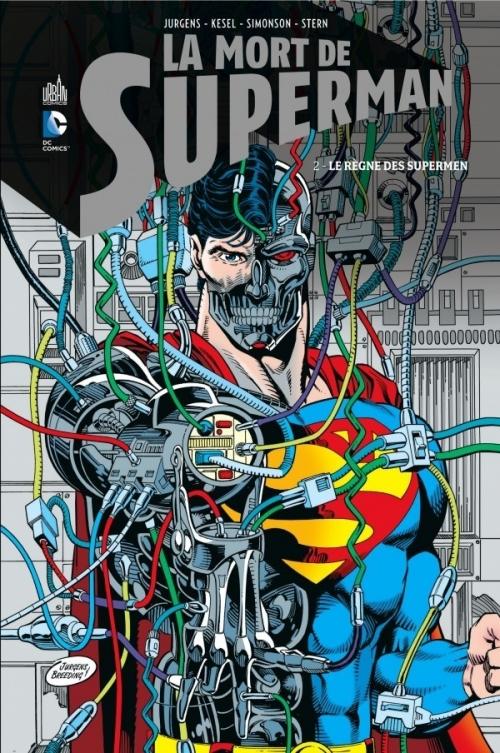 Couverture La Mort de Superman, tome 2 : Le Règne des Supermen