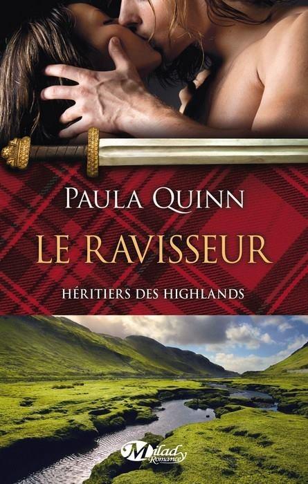 Couverture Héritiers des Highlands, tome 1 : Le Ravisseur