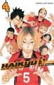 Couverture Haikyû !! : Les as du volley ball, tome 04 Editions Kazé (Shônen) 2014