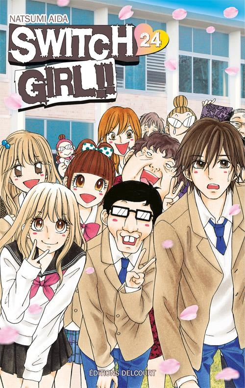 Couverture Switch Girl, tome 24