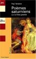Couverture Poèmes saturniens Editions Librio (Poésie) 2007