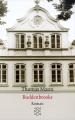 Couverture Les Buddenbrook Editions Fischer 1995
