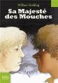 Couverture Sa majesté des mouches Editions Folio  (Junior) 2007