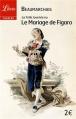 Couverture Le Mariage de Figaro Editions Librio (Théâtre) 2012
