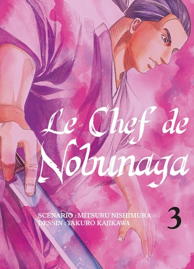 Couverture Le chef de Nobunaga, tome 03