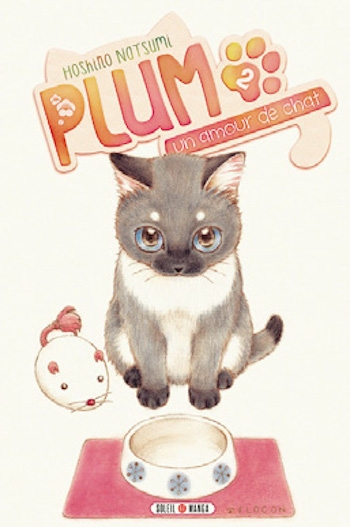 Couverture Plum, un amour de chat, tome 02