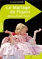 Couverture Le Mariage de Figaro Editions Belin / Gallimard (Classico - Lycée) 2011