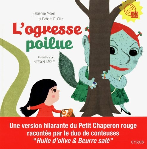 Couverture L'ogresse poilue