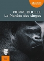 Couverture La Planète des singes Editions Audiolib 2014
