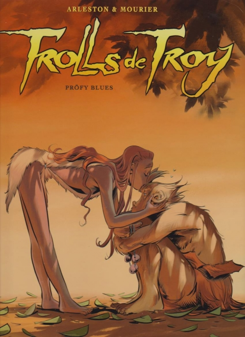 Couverture Trolls de Troy, tome 18 : Pröfy blues