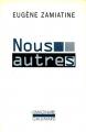 Couverture Nous autres / Nous Editions Gallimard  (L'imaginaire) 2013