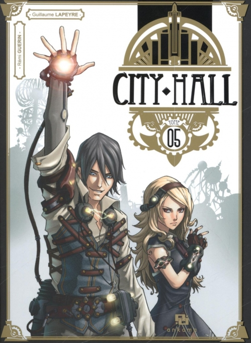Couverture City Hall, tome 5
