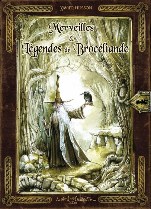 Couverture Merveilles & légendes de Brocéliande