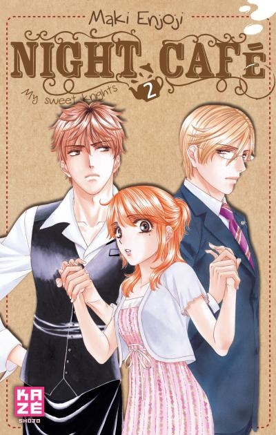 Couverture Night café - My sweet knights, tome 2