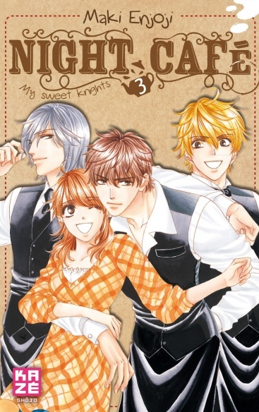 Couverture Night café - My sweet knights, tome 3