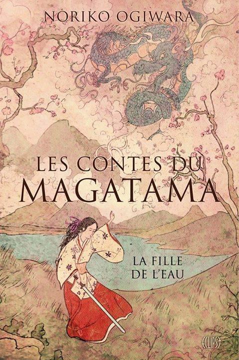 Couverture Les Contes du Magatama, tome 1 : La fille de l'eau