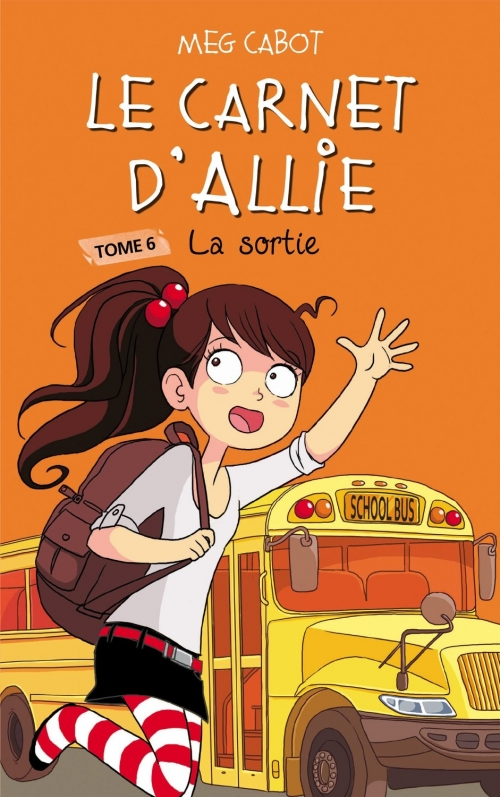 Couverture Les carnets d'Allie / Allie Punchie, tome 6 : La sortie