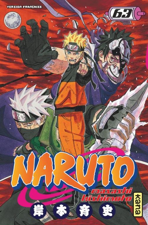 Couverture Naruto, tome 63