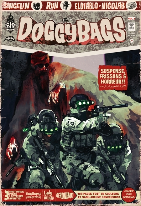 Couverture DoggyBags, tome 04