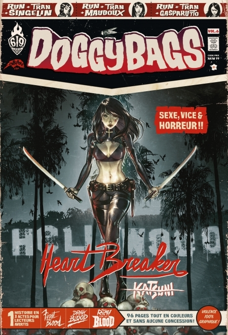 Couverture DoggyBags, tome 06 : Heartbreaker