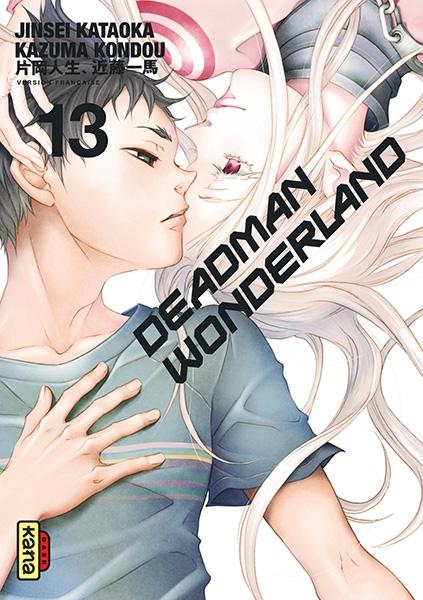 Couverture Deadman Wonderland, tome 13