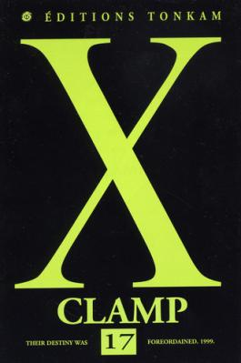 Couverture X, tome 17