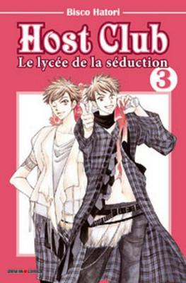Couverture Host club : Le lycée de la séduction, tome 03