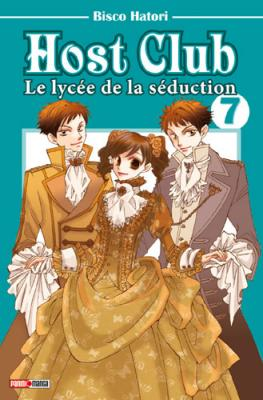 Couverture Host club : Le lycée de la séduction, tome 07