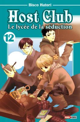Couverture Host club : Le lycée de la séduction, tome 12