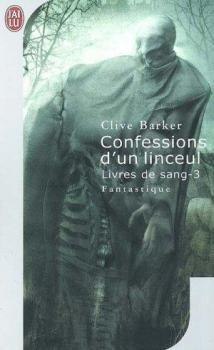 Couverture Livres de sang, tome 3 : Confessions d'un linceul