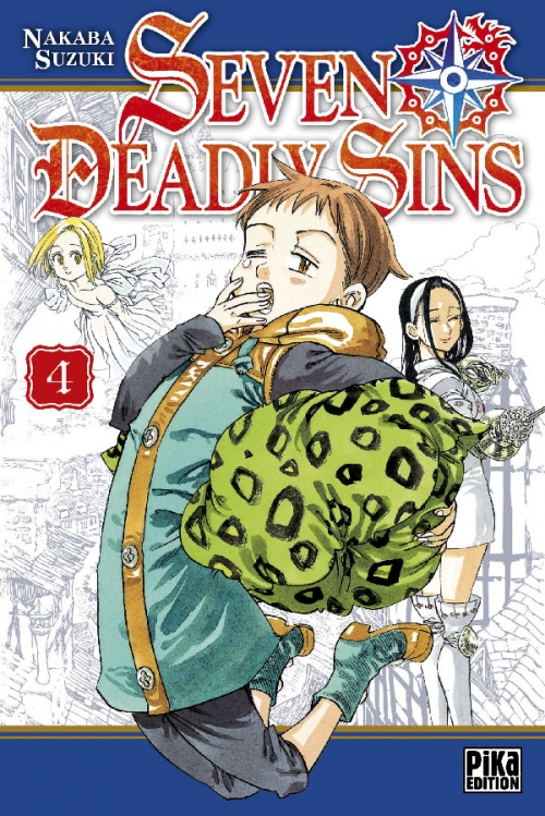 Couverture Seven Deadly Sins, tome 04