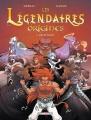 Couverture Les Légendaires : Origines, tome 3 : Gryfenfer Editions Delcourt (Jeunesse) 2014