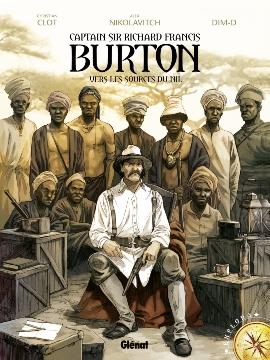 Couverture Burton, tome 1 : Vers les sources du Nil