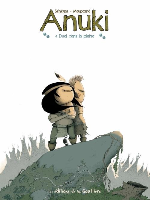 Couverture Anuki, tome 4 : Duel dans la plaine