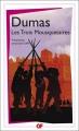 Couverture Les Trois Mousquetaires Editions Flammarion (GF) 2013