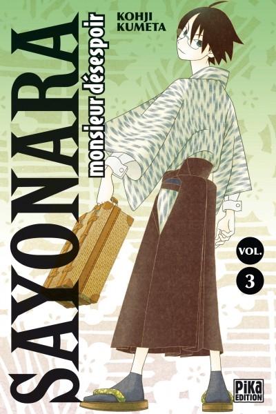 Couverture Sayonara Monsieur Désespoir, tome 03