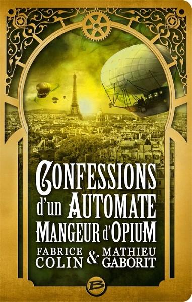 Couverture Confessions d'un automate mangeur d'opium