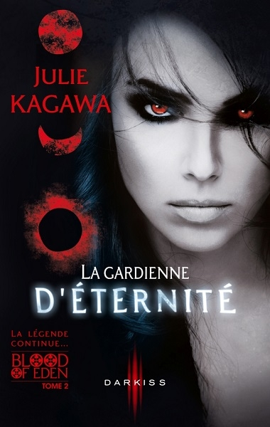 Couverture Blood of Eden, tome 2 : La gardienne d'éternité