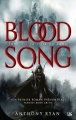 Couverture Blood Song, tome 1 : La voix du sang Editions Bragelonne (Fantasy) 2014