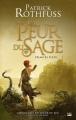 Couverture Chronique du tueur de roi, tome 2 : La peur du sage, partie 1 Editions Bragelonne (Fantasy) 2014